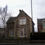 Part of the old bewicke road school, Wallsend