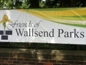 Friends Of Wallsend Park Banner