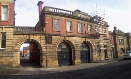 Wallsend Fire Station in the 1980's